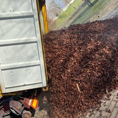 Franse boomschors los gestort