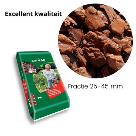 Franse Boomschors Decor 25-45mm Excellent 490 liter