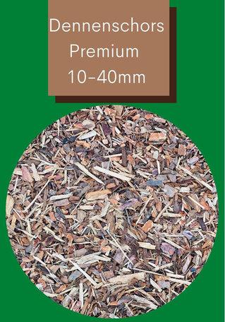 Dennenschors Premium 10/40mm 490 Liter
