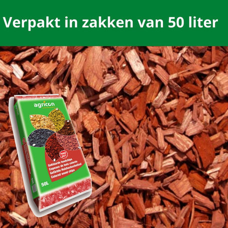 Houtsnippers Bruin 1950 liter