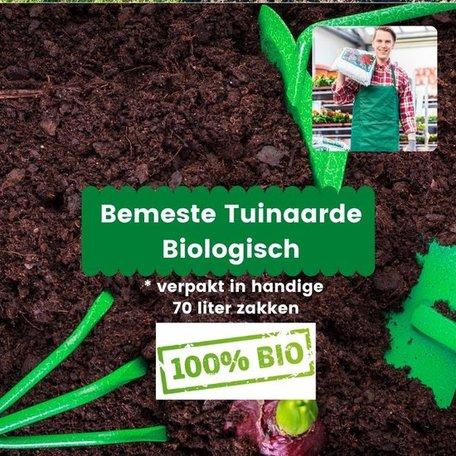 Biologische bemeste tuinaarde 490 liter (7 x 70 liter)