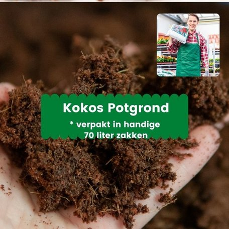 Kokos Potgrond 2730 liter (39 x 70 liter)